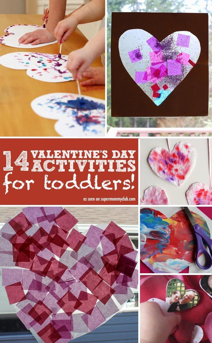 ADORABLE Valentineu0027s Day Crafts For Toddlers