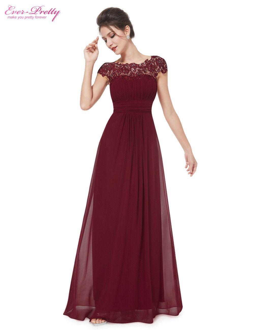 19e05b4276761 Evening Dresses Newest Free Shipping EP09993 Black Lace Neckline ...