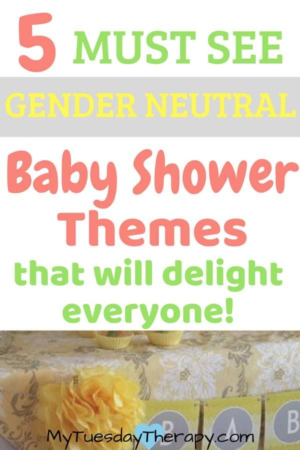 Gender Neutral Baby Shower Themes Baby Registry And Baby Shower