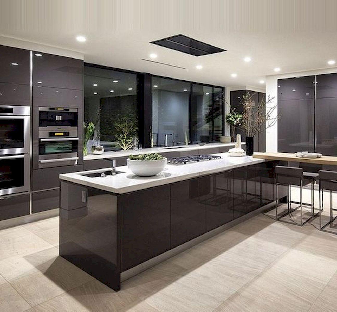Nice 48 Luxury Modern Dream Kitchen Design Ideas And Decor Source Https Artmyideas Com Modern Kitchen Cabinet Design Dream Kitchens Design Luxury Kitchens