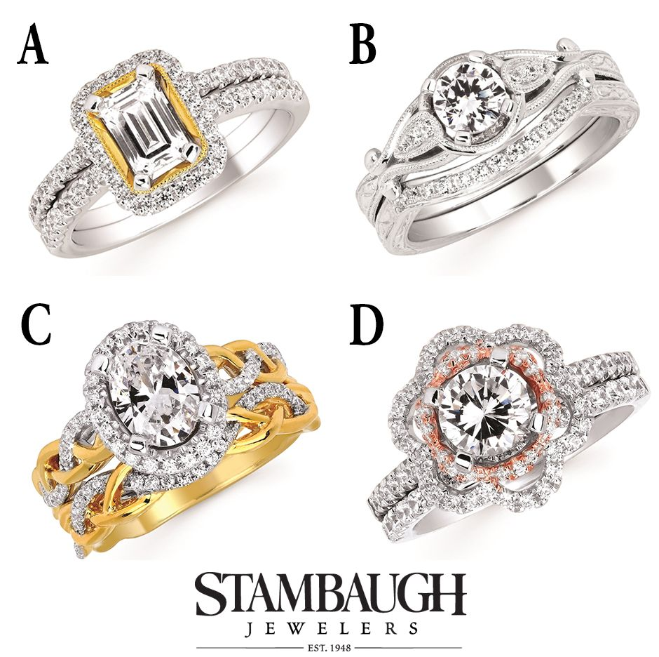 It's #WeddingWednesday!  Which of these Forever Elegant wedding sets do you like best? Visit our Facebook page to vote.