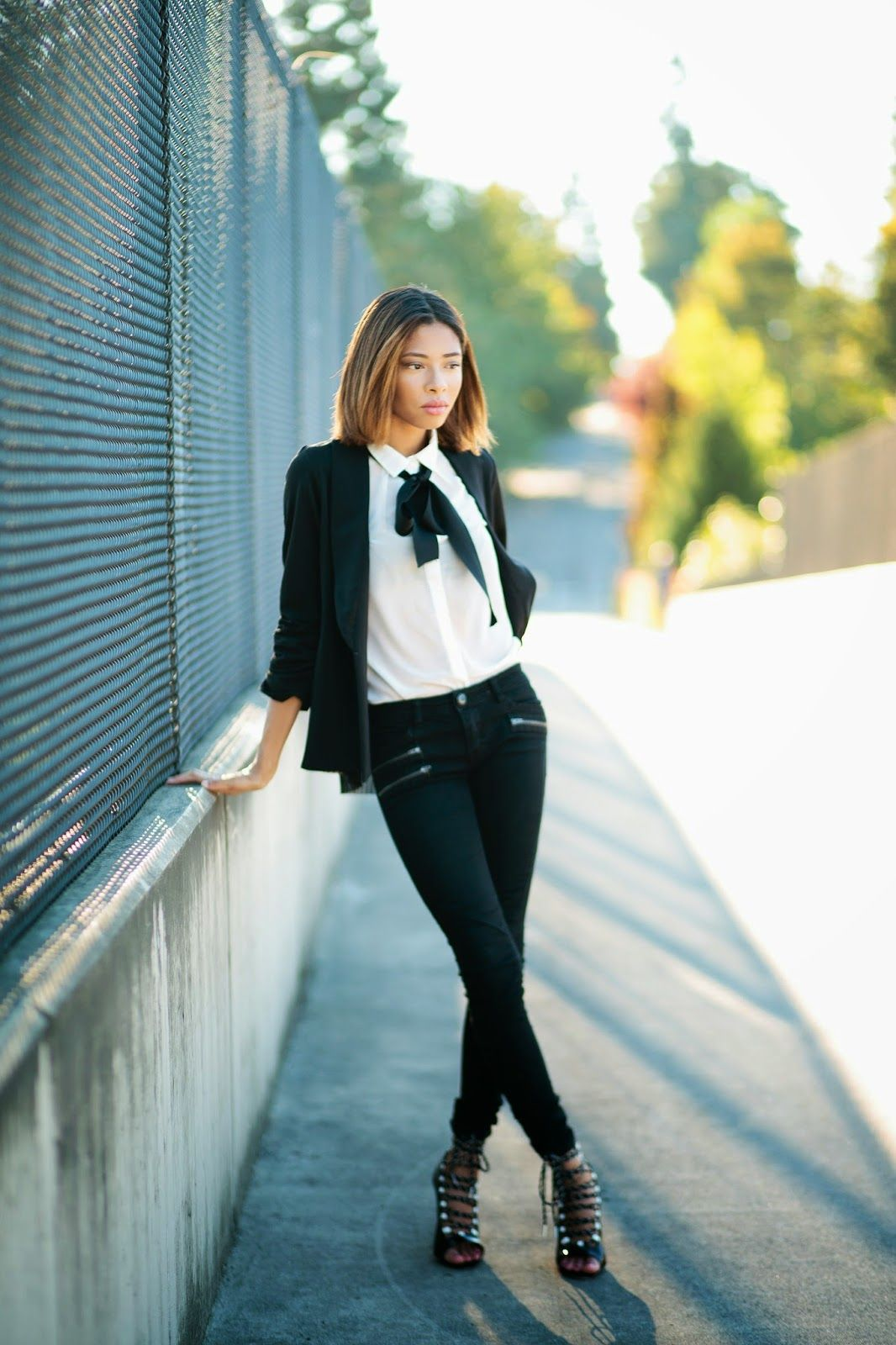 The Vera Blazer by Jaleh Clothing | Seattle Fashion Blogger By Chanel Robinson