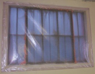 Windows Insulation Plastic Cover Im getting these Window