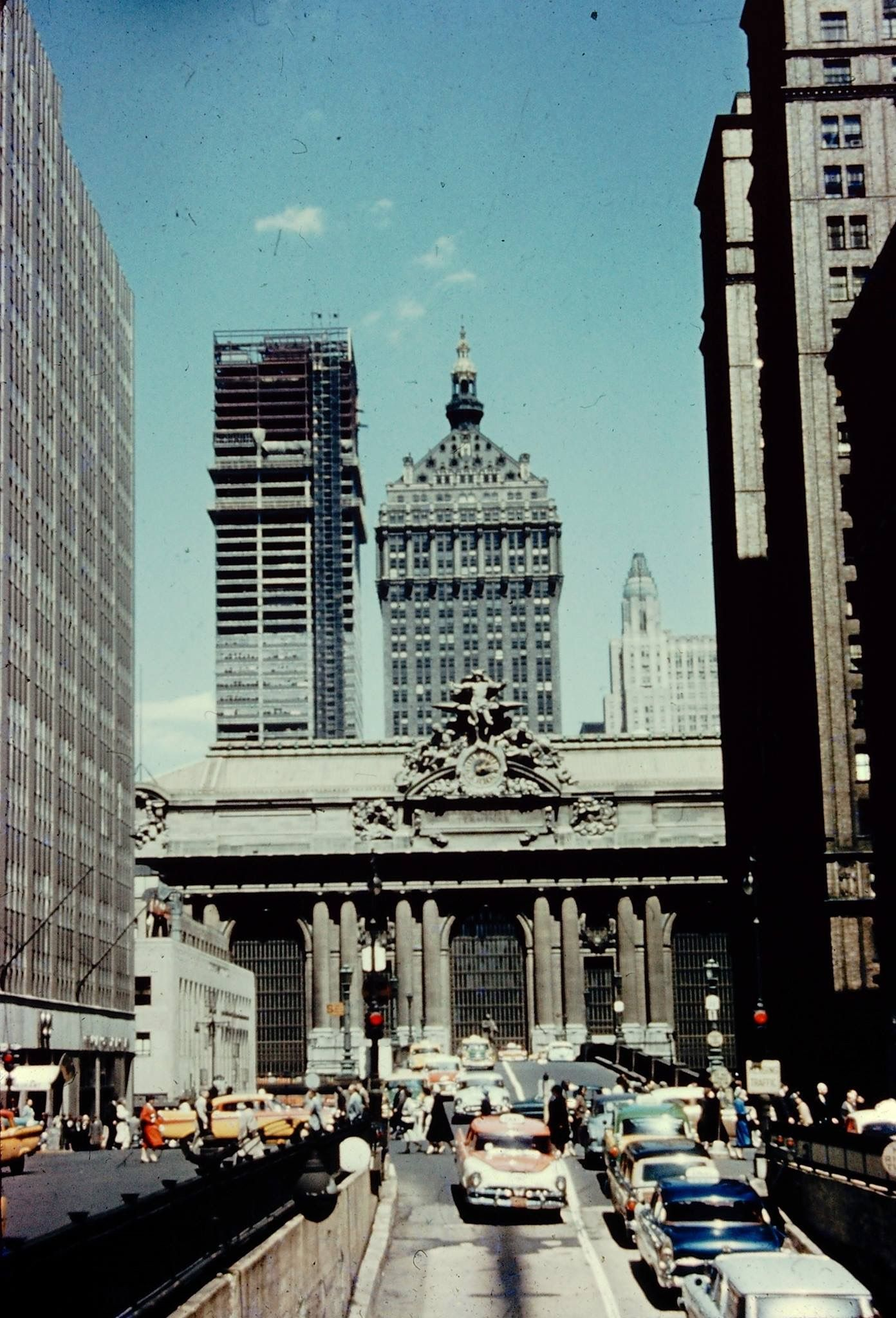 Park and 42nd Grand Central a Terminal 1950's