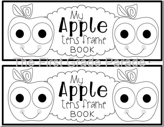 Apple Tens Frame Booklet freebie {Kindergarten} | Math | Pinterest ...