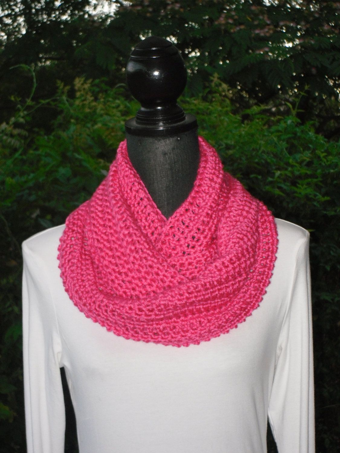 A personal favorite from my Etsy shop https://www.etsy.com/listing/104033778/infinity-eternity-cowl-neck-warmer-scarf