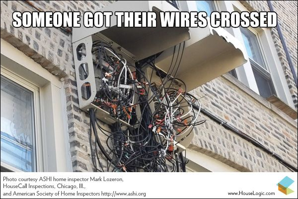 When It S Time For An Electrical Wiring Upgrade Wire Crosses Diy Fails Electricity