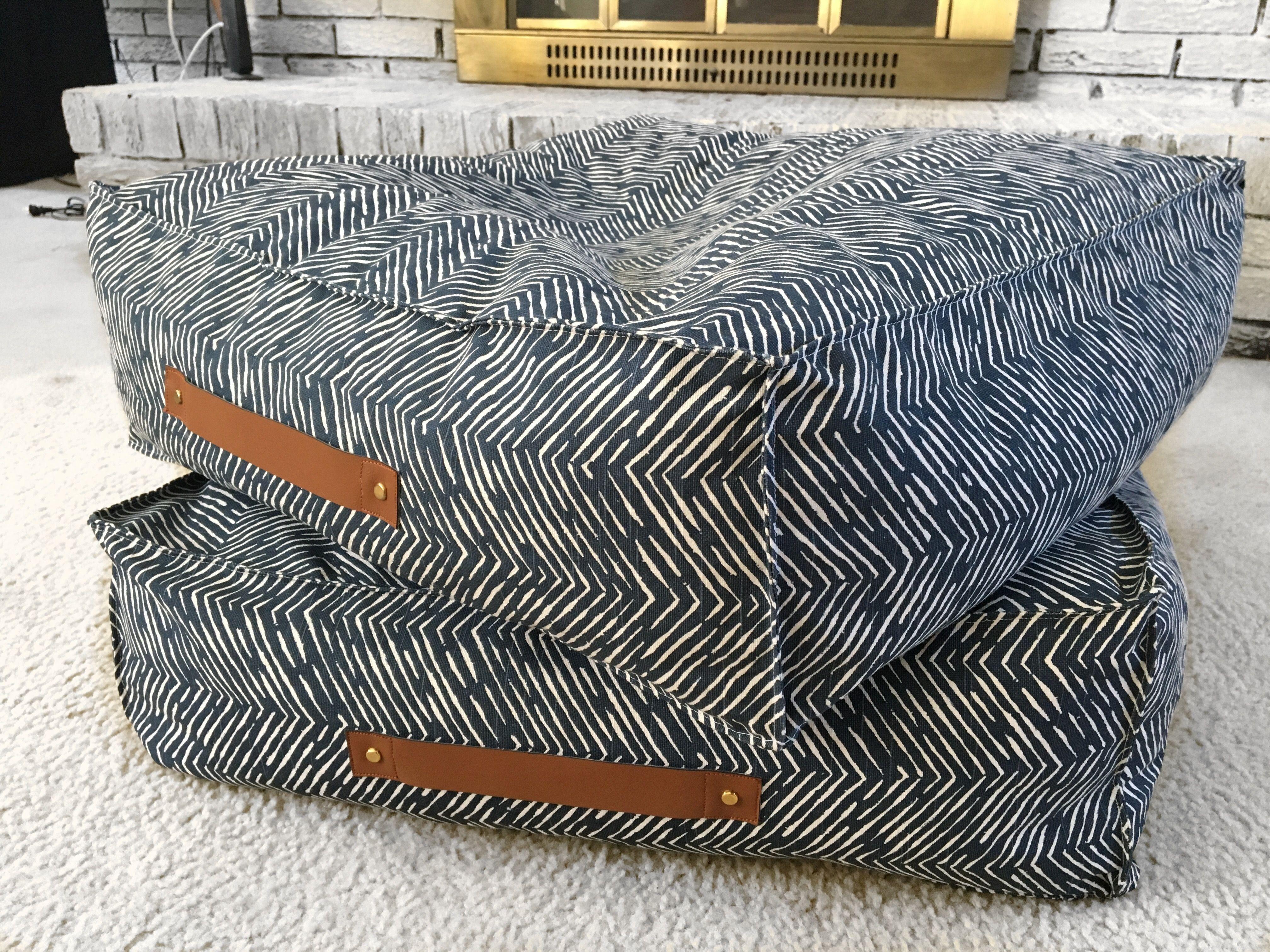 Cuscini Giganti Per Bambini.Diy Large Floor Pillows Cuscini Pavimenti E Fai Da Te