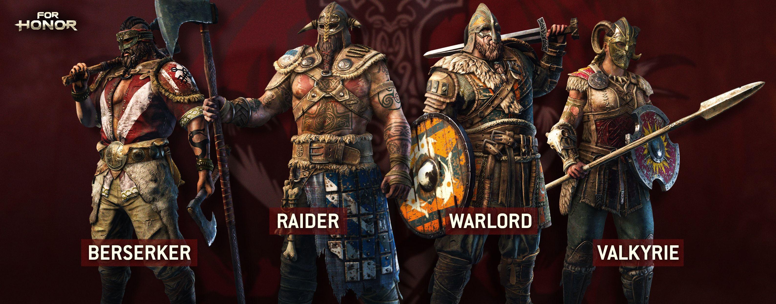 My Vikings | For Honor | Honor classes, For honor viking