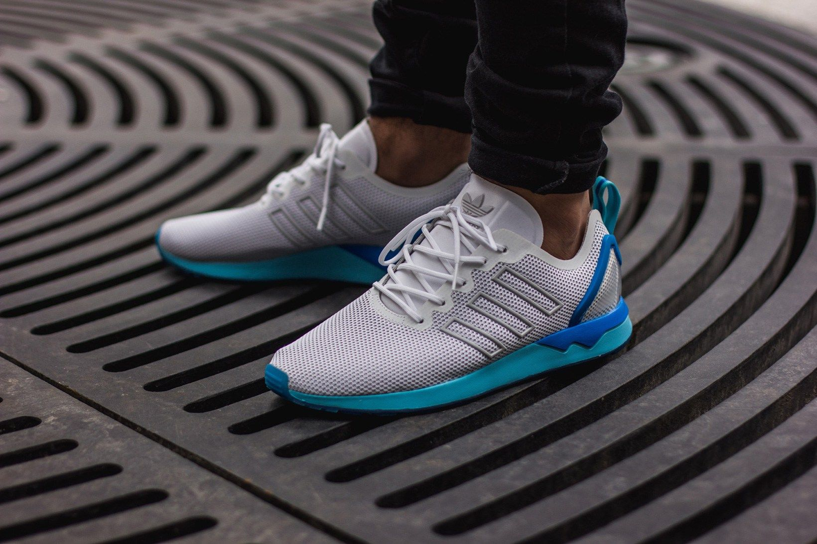 best service 35f39 cadd4 adidas Originals' ZX Flux ADV Offers a Sleek Pop of Neon in ...