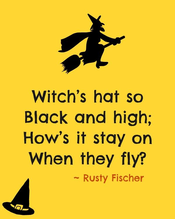 Witchu0027s Hat... A Halloween Poem