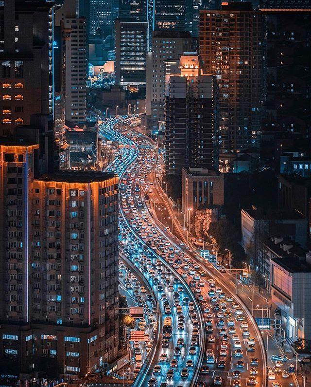 """That's Shanghai On Instagram: """"Traffic Jam. #Regram From"""