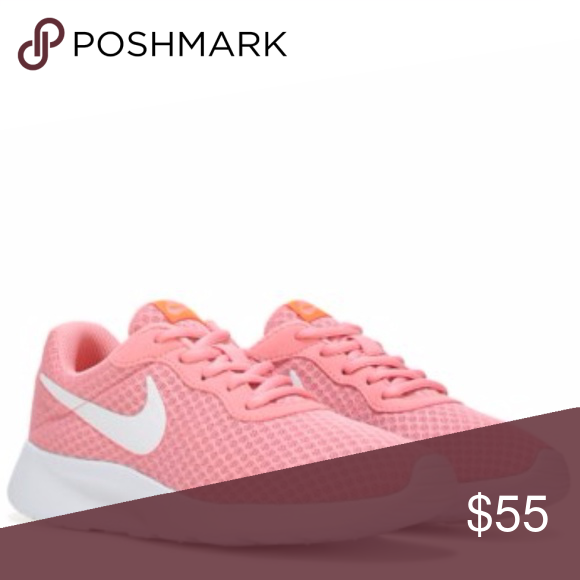 Nike Tanjun Sneaker Pink and white womens Nike Worn once