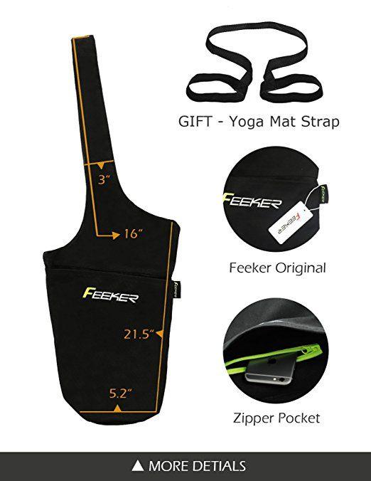 Large Yoga Gym Bag Fits Most Size Yoga Mats X2f Large Storage Yoga Mat Bag Wide Sling Carrier With Strap G Yoga Bag Pattern Yoga Mat Bag Pattern Yoga Bag