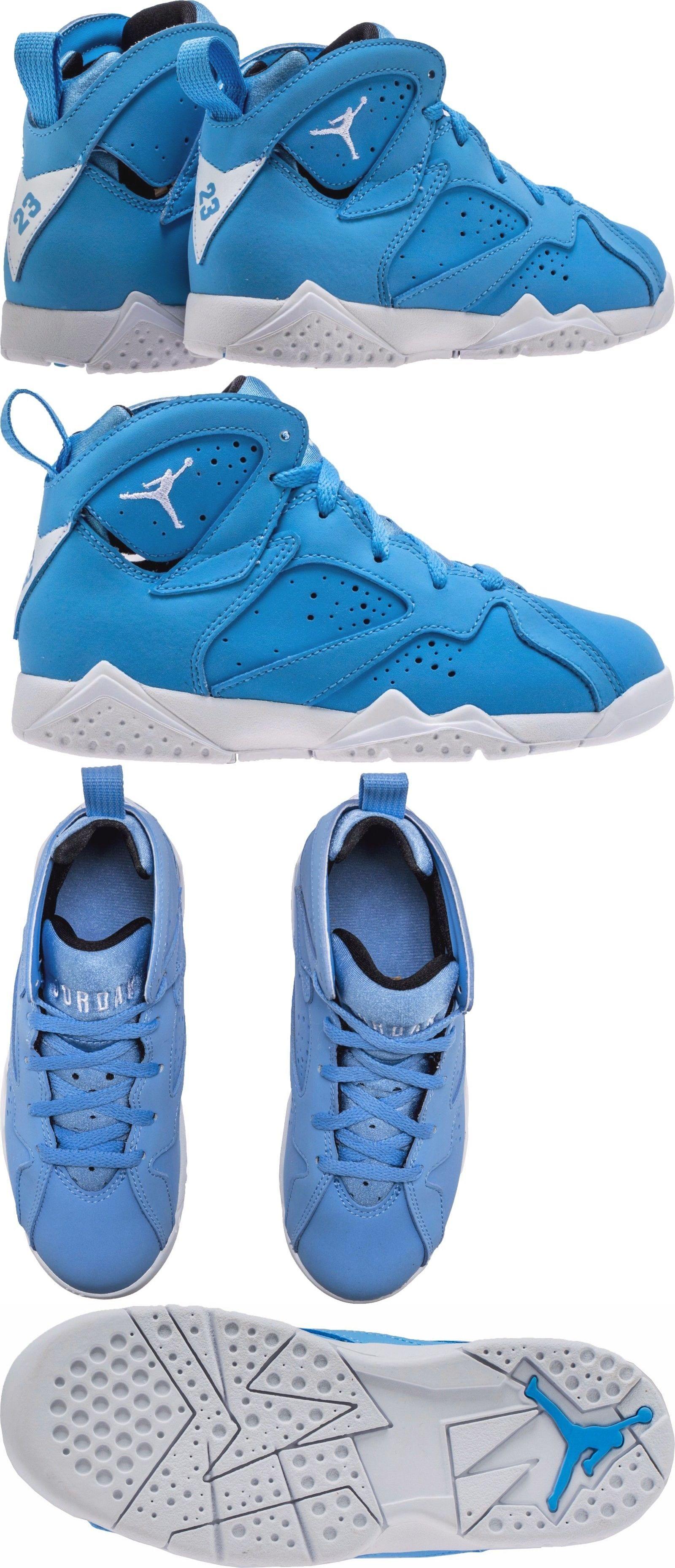 ... Girls Shoes 57974 Nike Air Jordan Retro 7 Pantone University Blue White 304773  400 11.5 ... 4b7048697