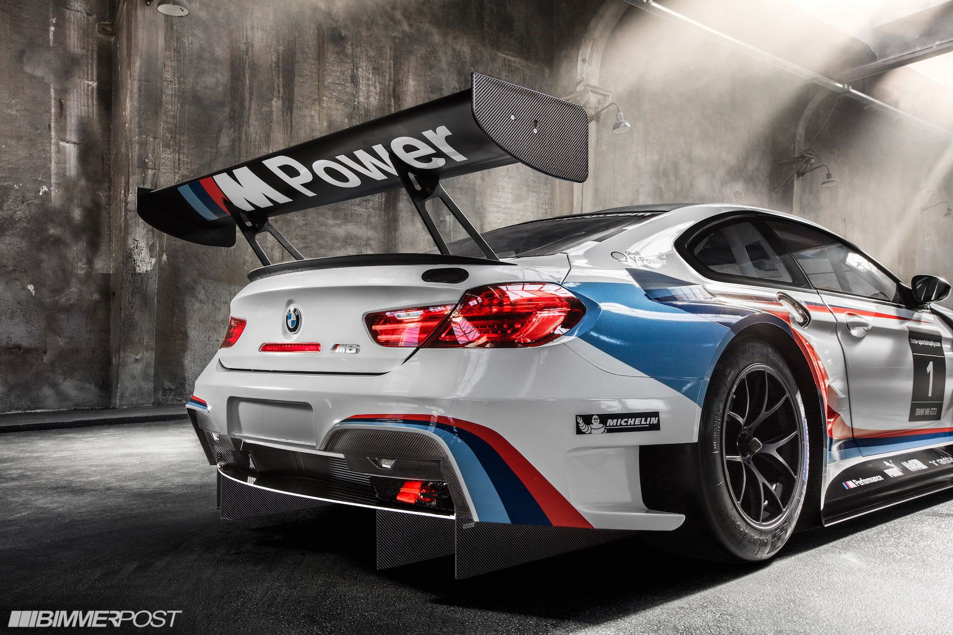 Presenting the bmw m6 gt3