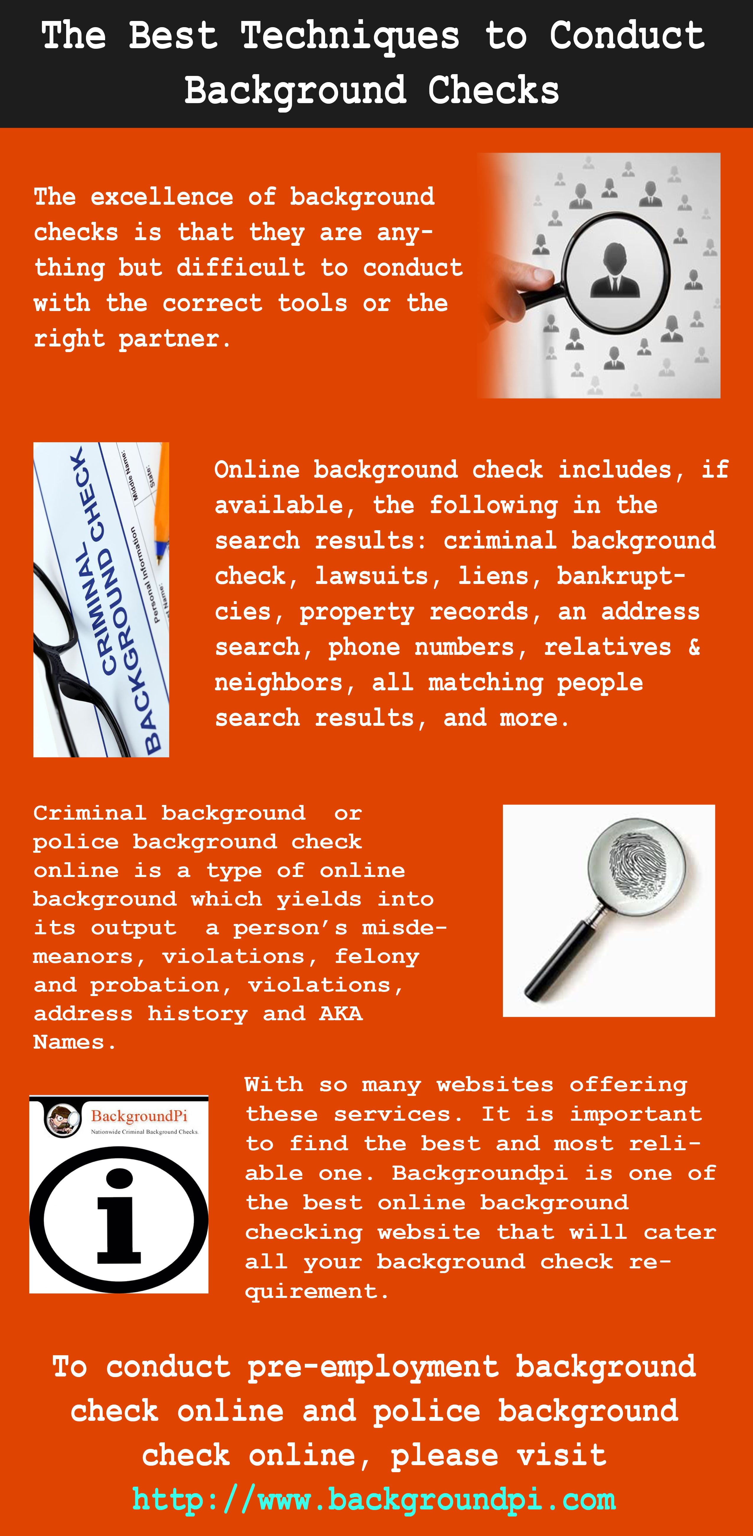 Conducting A Background Check Is Essential To Guarantee Your Safety Visit Http Www Backg Online Background Check Criminal Background Check Background Search