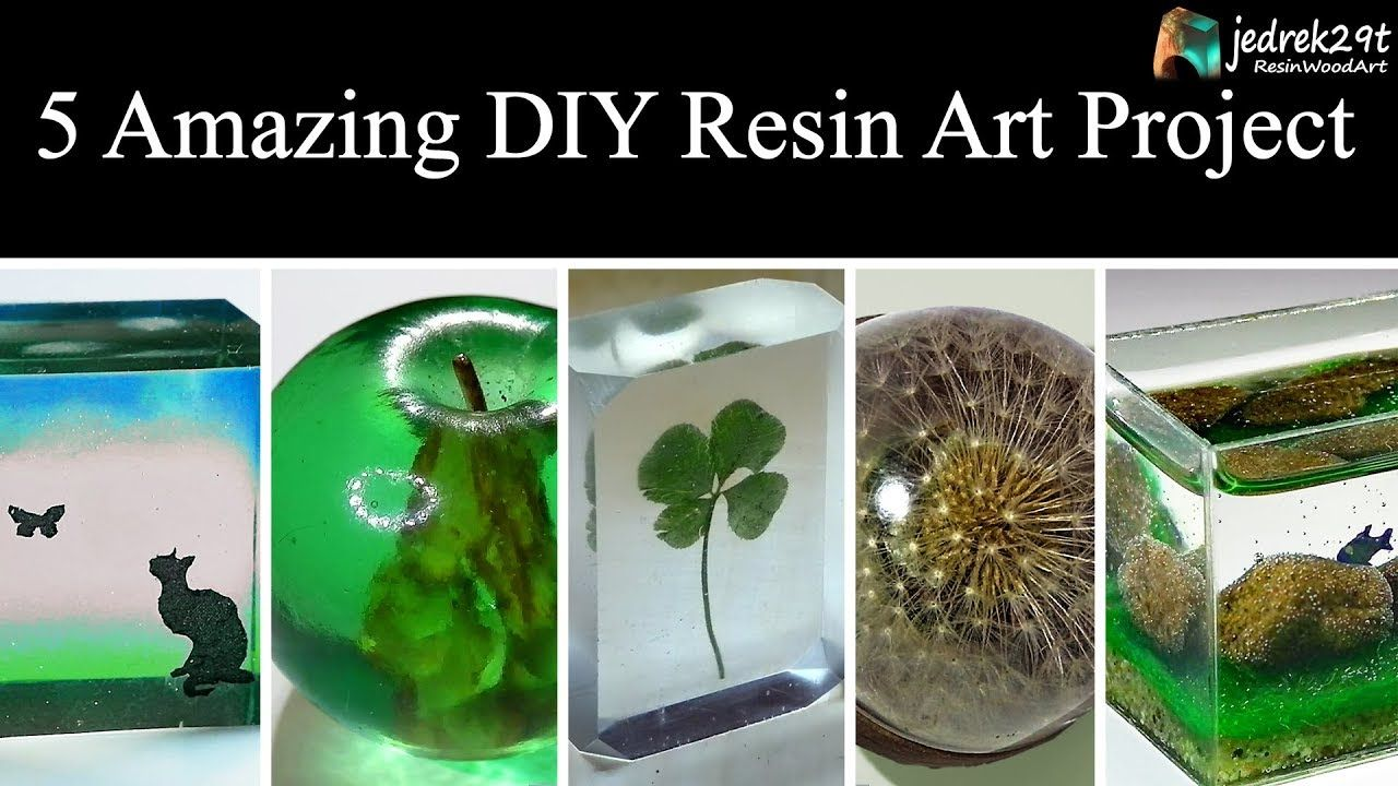 5 Most Amazing Diy Ideas From Epoxy Resin Simple Tutorial Art Resin Youtube Resin Diy Diy Resin Crafts Resin