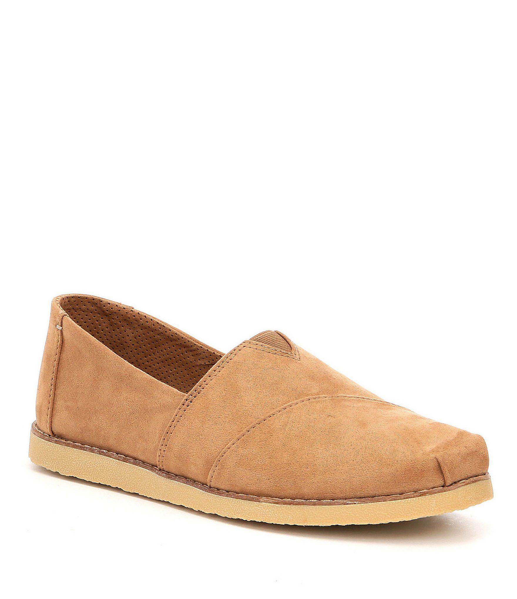TOMS Alpargata Crepe Slip-Ons #Dillards