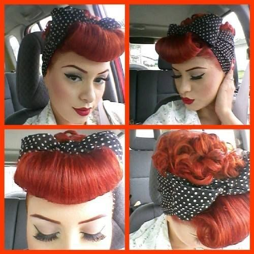 Lucy Ball Vintage Hair
