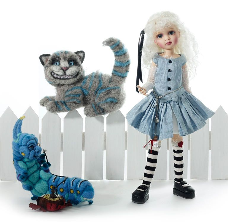 Alice in Wonderland by Lorella Falconi at The Toy Shoppe