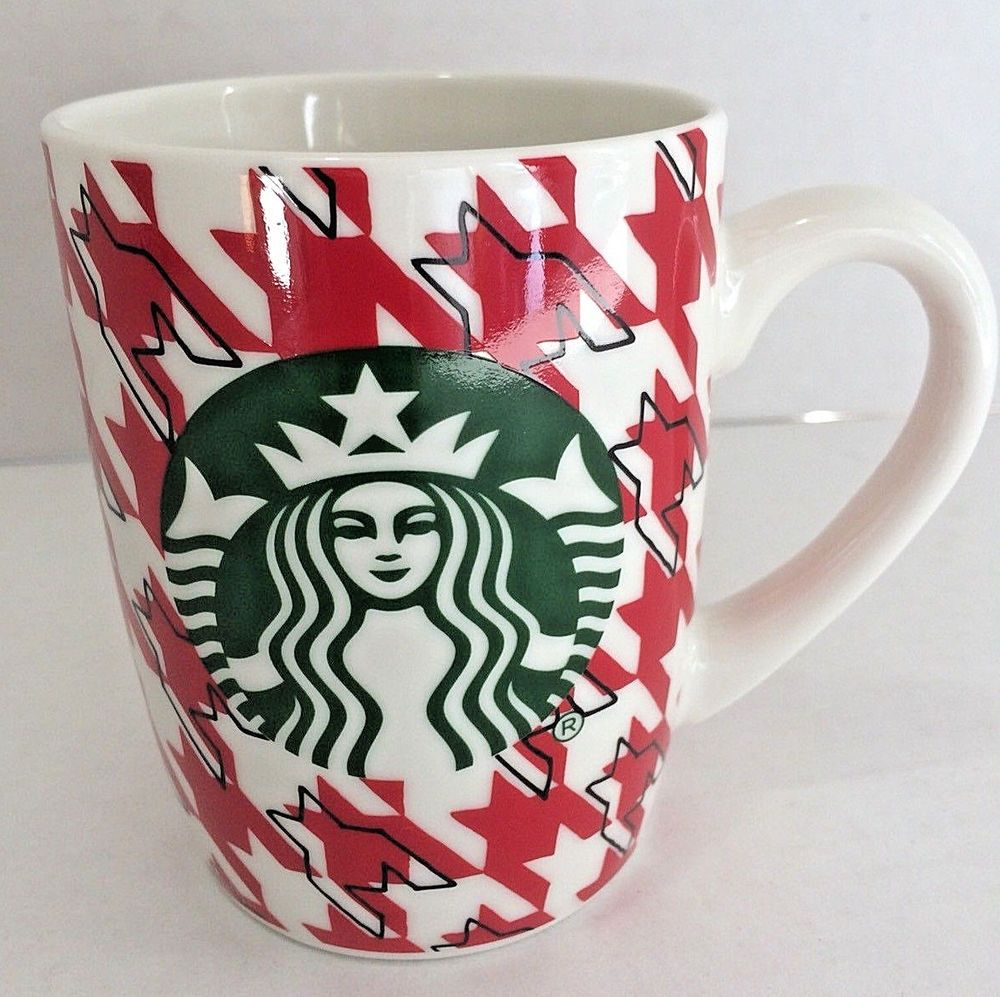 2017 Mermaid Starbucks Mug Christmas Holiday Red and Green
