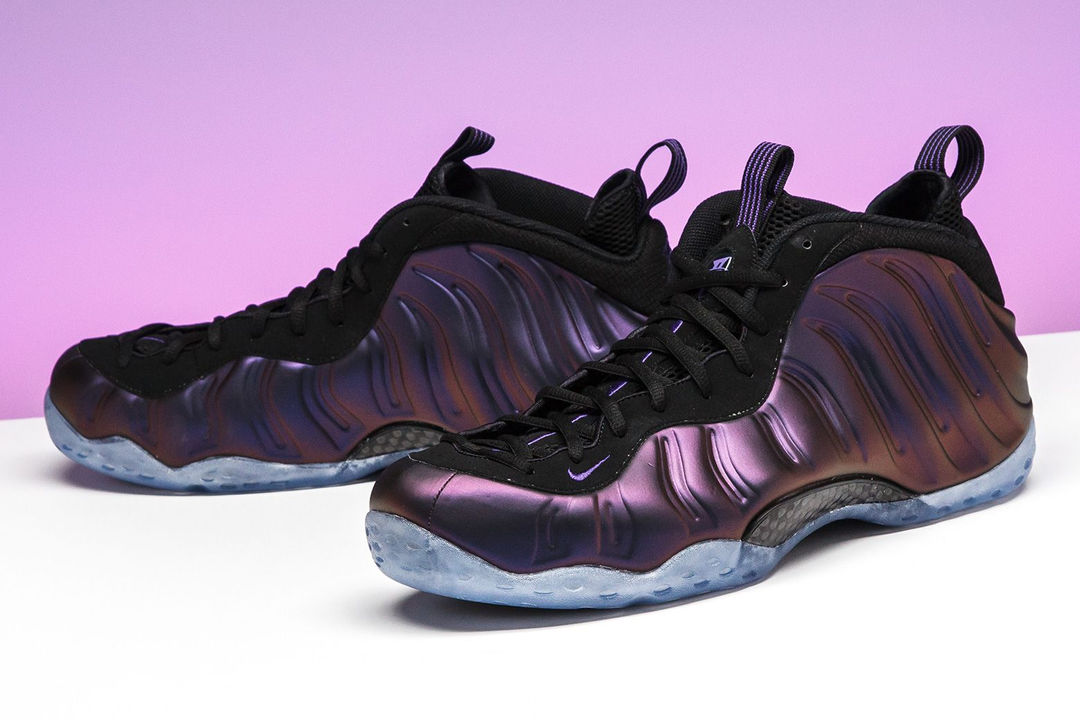 ? AIR? FOAMPOSITE ONE IRIDESCENT W DARK STUCCO ...