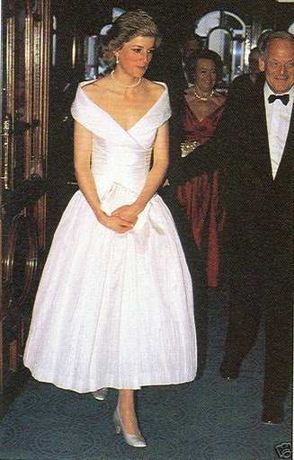 "May 12 1988 Diana, Patron, National Hospitals for Nervous Diseases, attended a Gala Performance of ""The Magic Flute"" in aid of the charity, at the London Coliseum, St. Martin's Lane, London WC2"