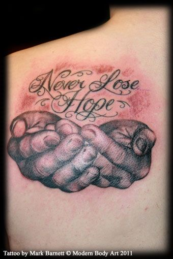 Cupped Hands Tattoo | Cupped Hand Tattoo http://www ...