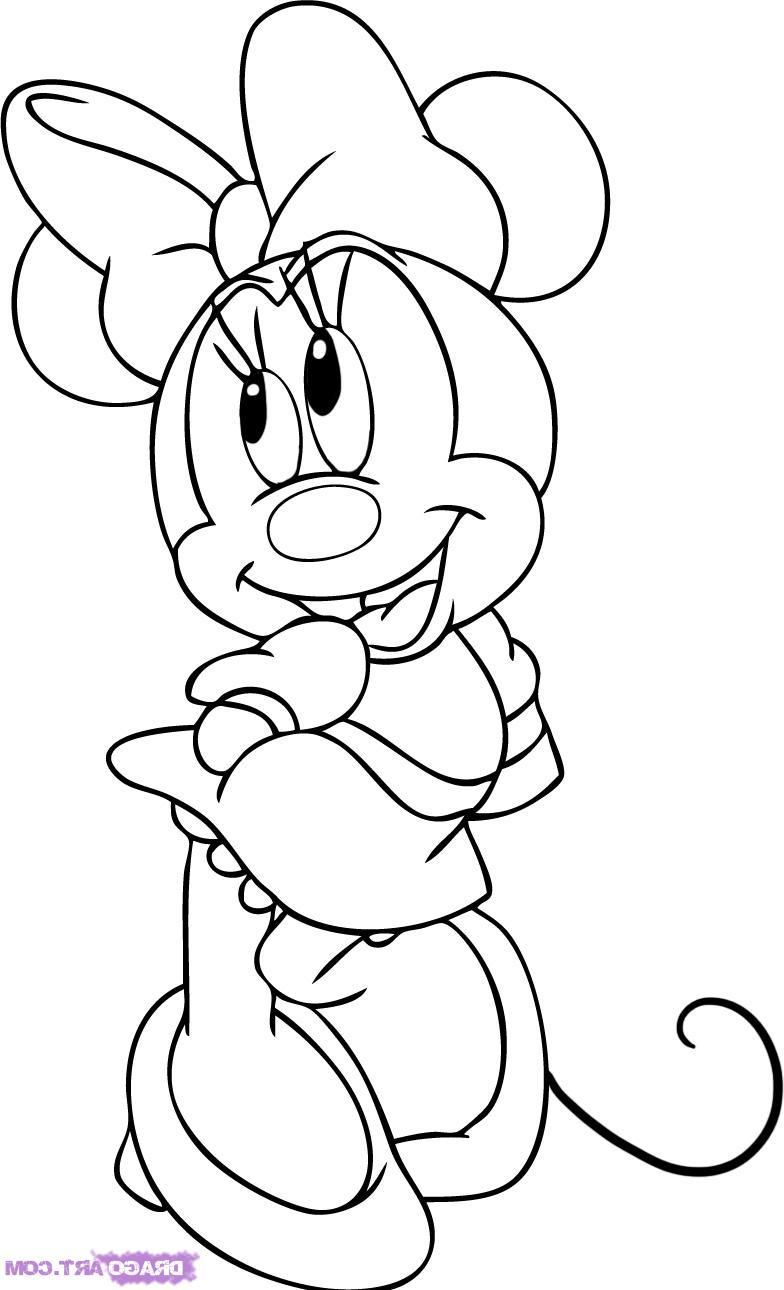 Minnie Mouse Coloring Pages Minnie Mouse Coloring Pages Disney