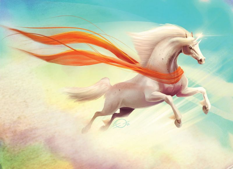 flying horse by Dr-Stain.deviantart.com on @DeviantArt