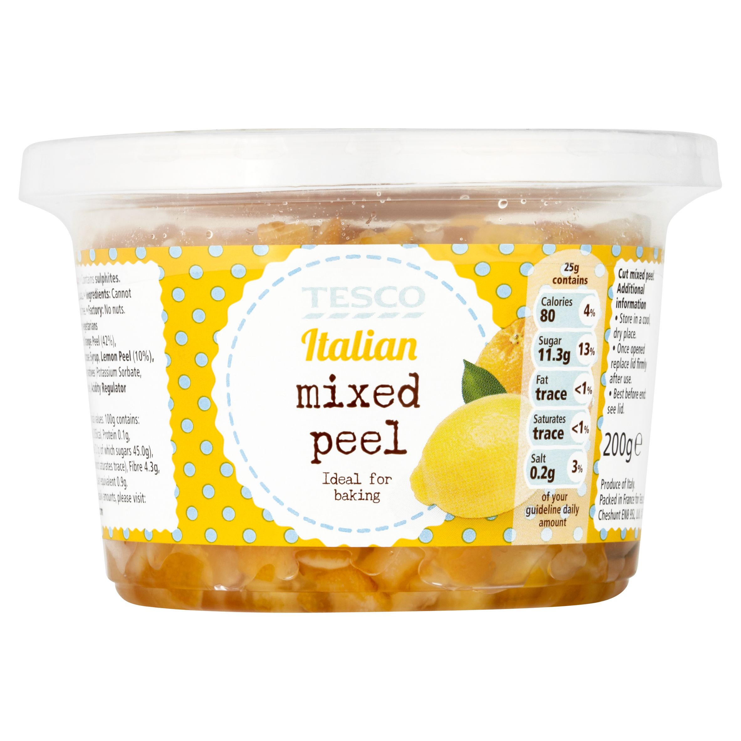 Tesco! #Italian mixed peel. | Tesco Product Range | Pinterest
