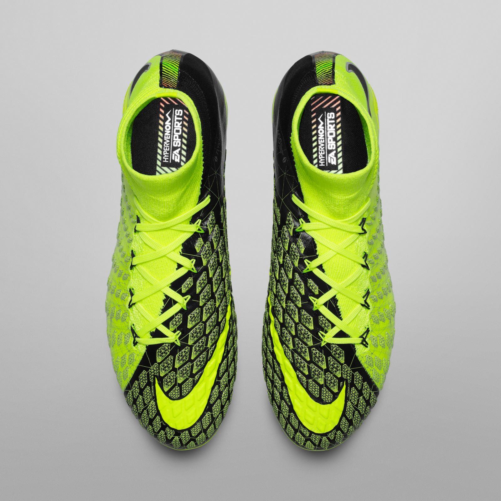 bce6e87e34aa The limited-edition Nike Hypervenom Phantom III EA Sports boots introduce a  striking design