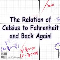 Celsius To Fahrenheit Taret Area Is Math This Strategy Gives