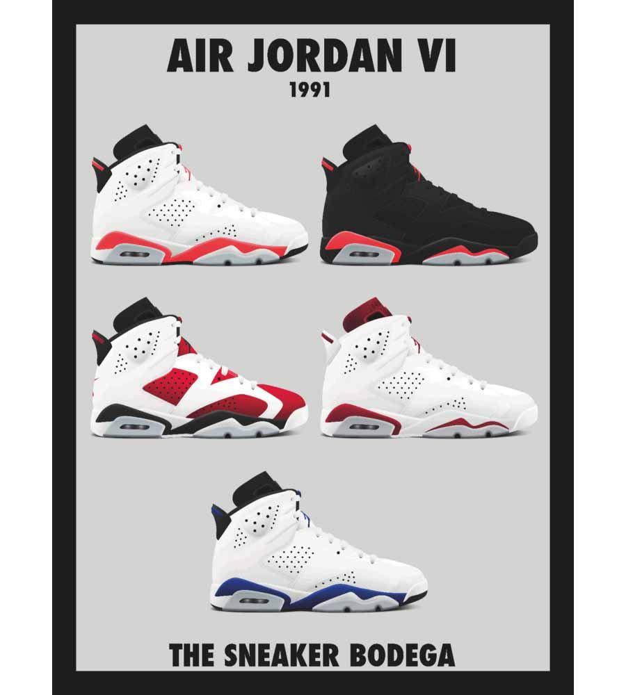 Air Jordan OGs Posters By Sneaker Bodega