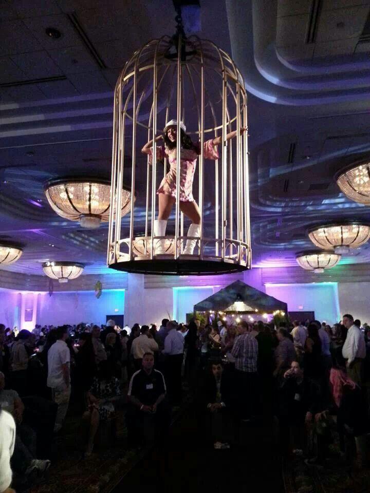 Nightclub Cage Dancer