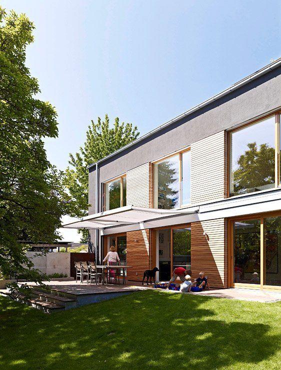 Stilvoll Modernisierter Altbau Zum Garten Geoffnete Fassade Anbau