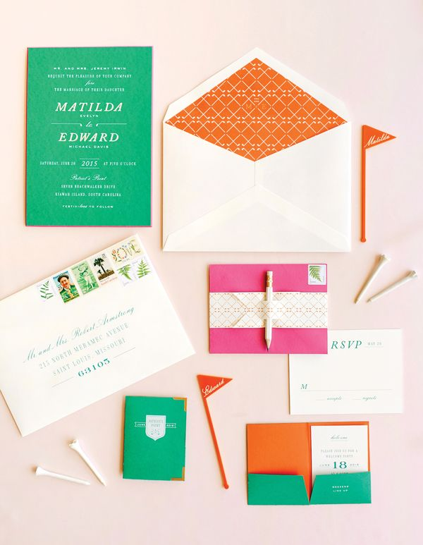 V8 Fore The Love Paper Pinterest Invitation Suite Southern