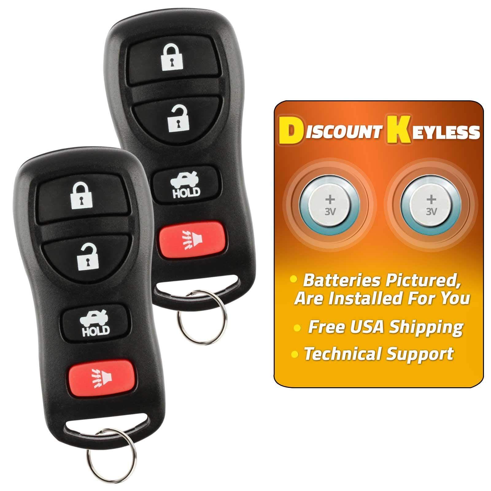 Discount keyless key fob keyless entry car remote control