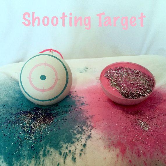 2 Shooting Target Gender Reveal Balls Pack by PoofThereItIsBalls