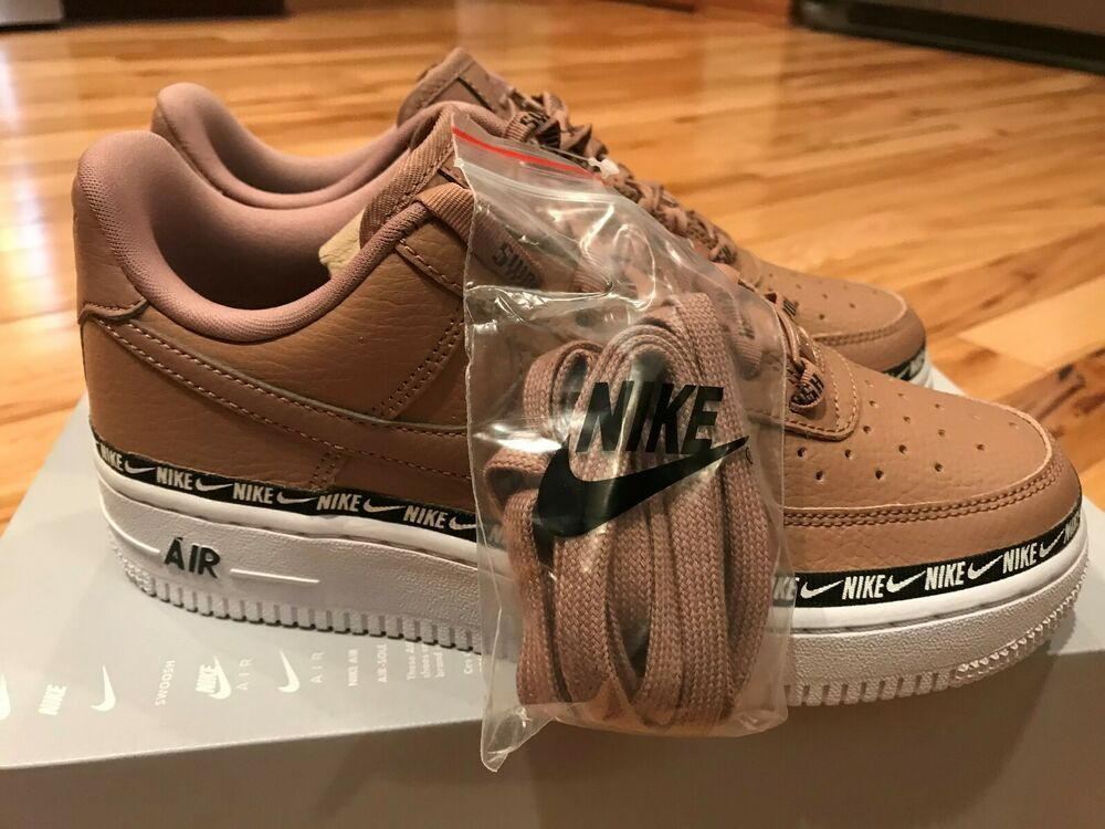 6a2fdc275 Nike Women's Air Force 1 07 SE PRM Ribbon Pack Desert Dust AH6827 201 Size 7