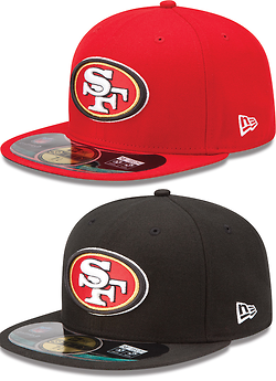 153463f6 Throwback Niners Hat size 7 1/4 | Christmas List | Hats, Sf niners ...