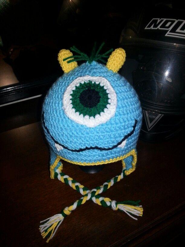Baby monster hat crochet / baby Mütze Monster gehäkelt   my crochet