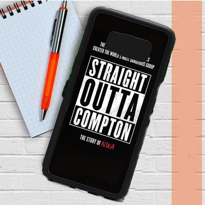 Straight Outta Compton Nwa Samsung Galaxy S8 Plus Case Casefreed
