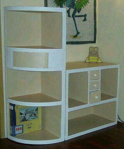 Mueble carton | Manualidades para hacer | Pinterest ... - photo#21