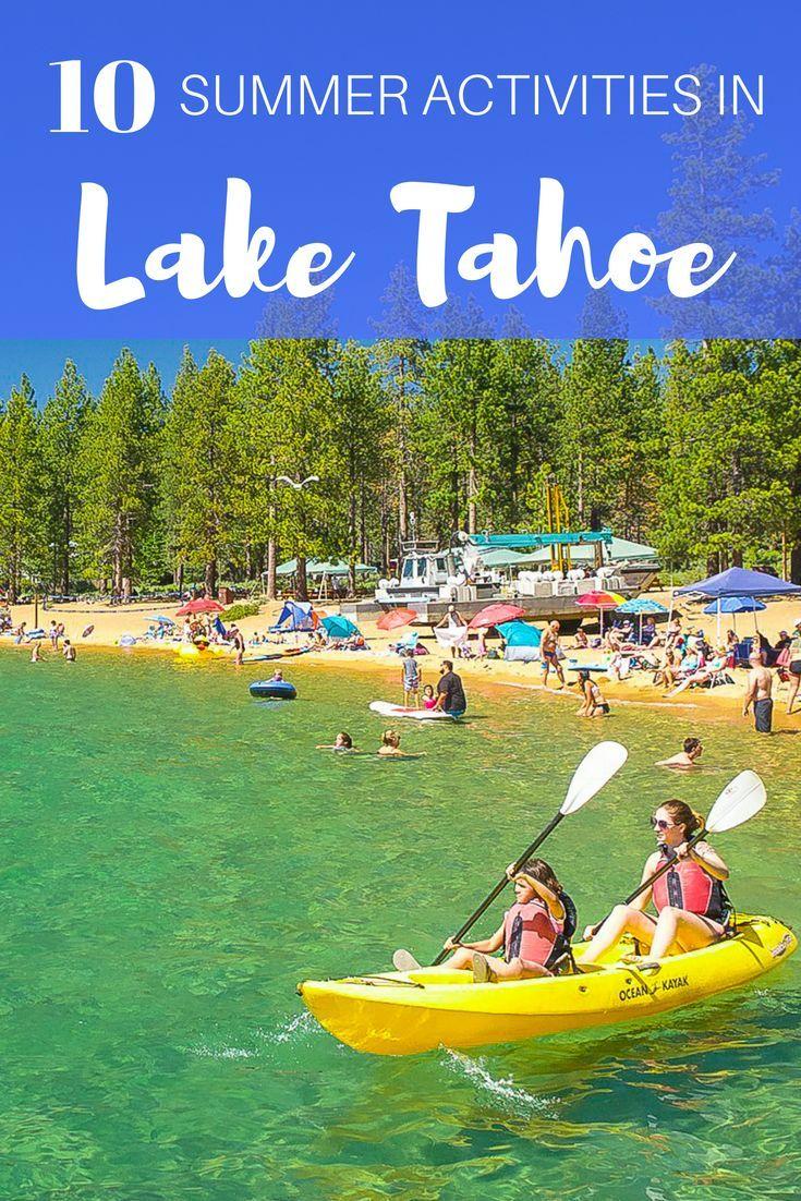 30 Things to Do in Lake Tahoe