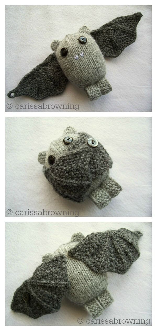 Photo of Amigurumi Bat Free Knitting Pattern and Paid    handarbeit witzig