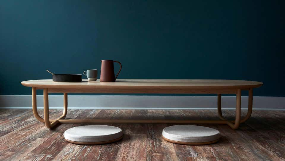 Gathering low table solid wood in 2020 low tables