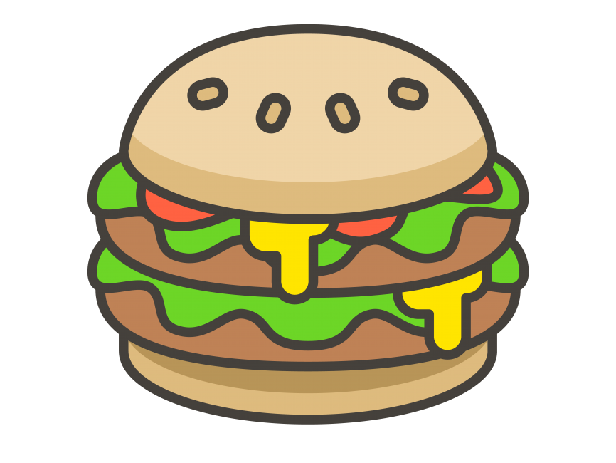 Hamburger Emoji Icon PNG Transparent Emoji Freepngimage