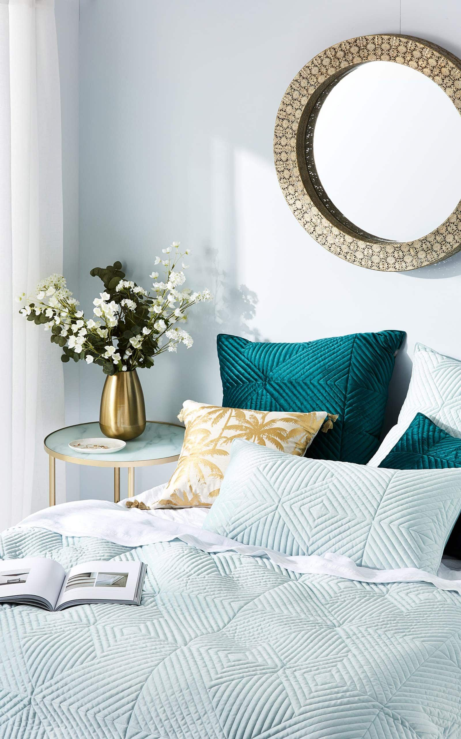 50 circle mirrors bedroom ideas with images  round